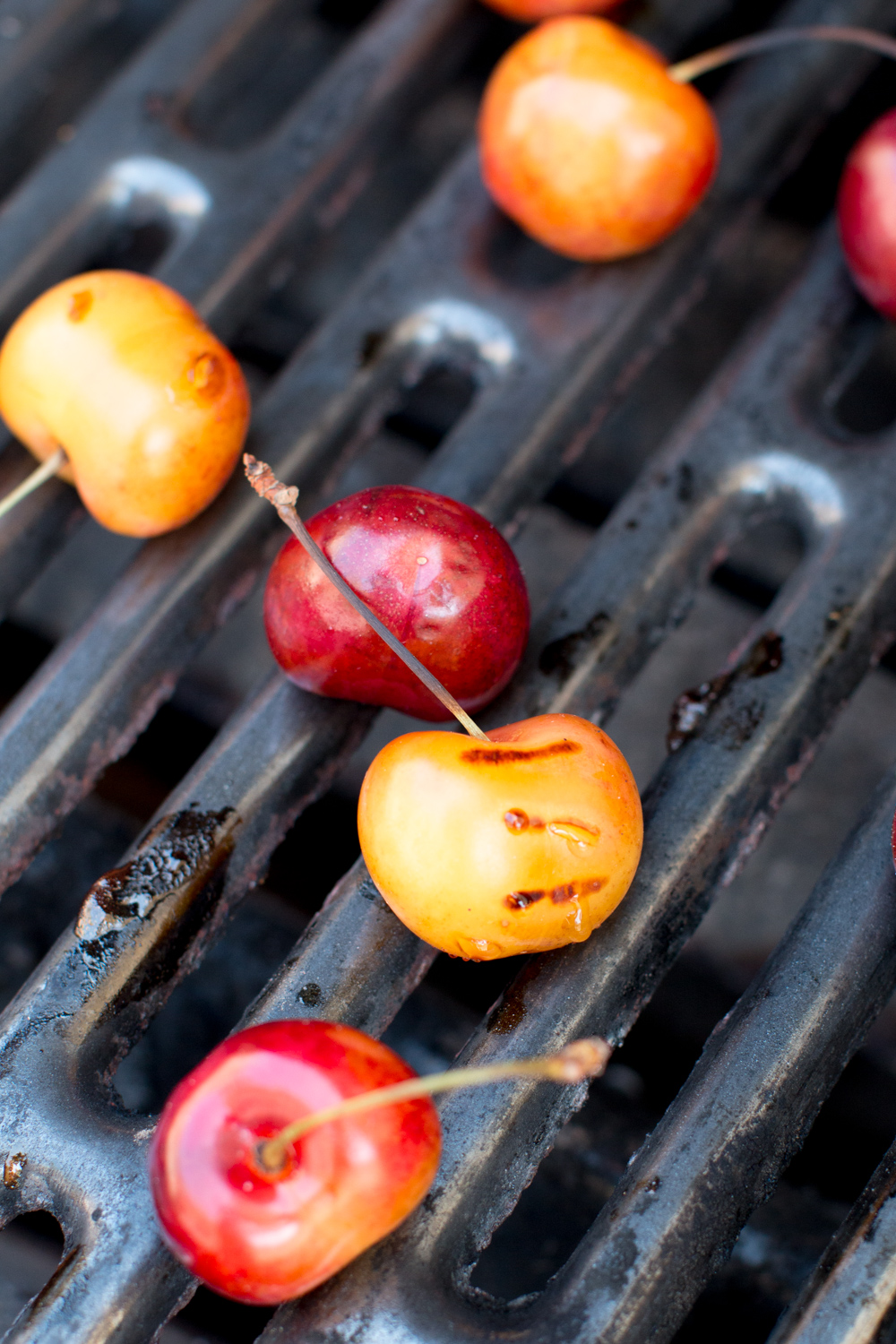 grilled cherries