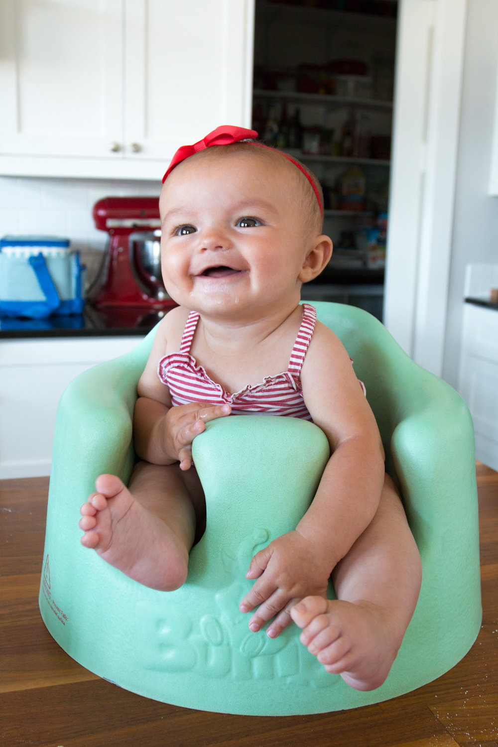 Violet, the happiest baby on earth