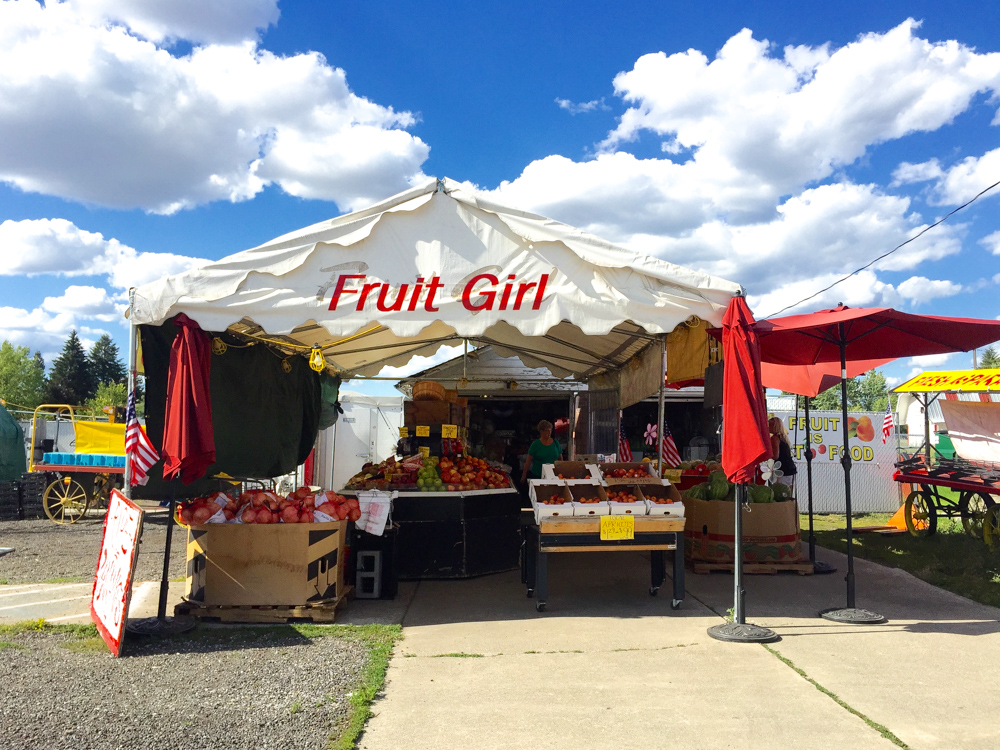 The Fruit Girl in Spokane Valley