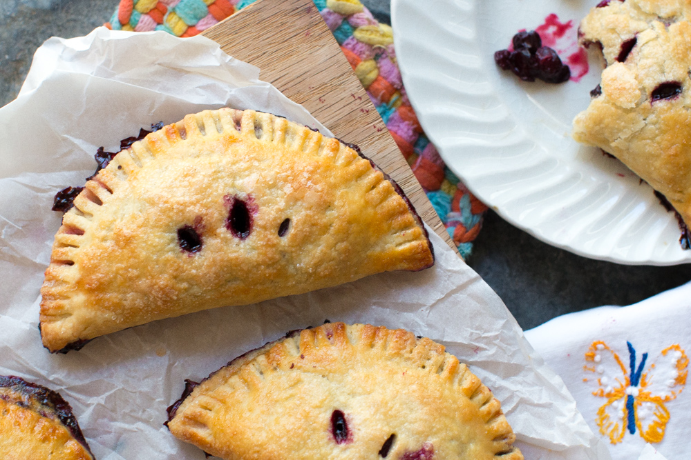 Huckleberry Hand Pies