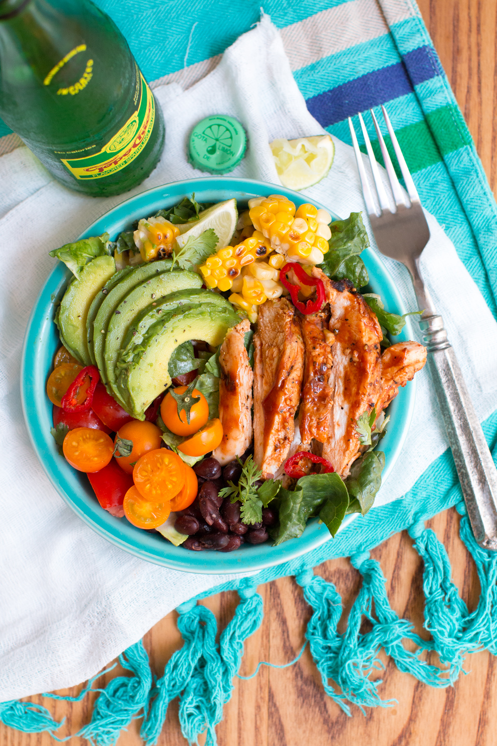 Buttermilk BBQ Southwest Chicken Salad