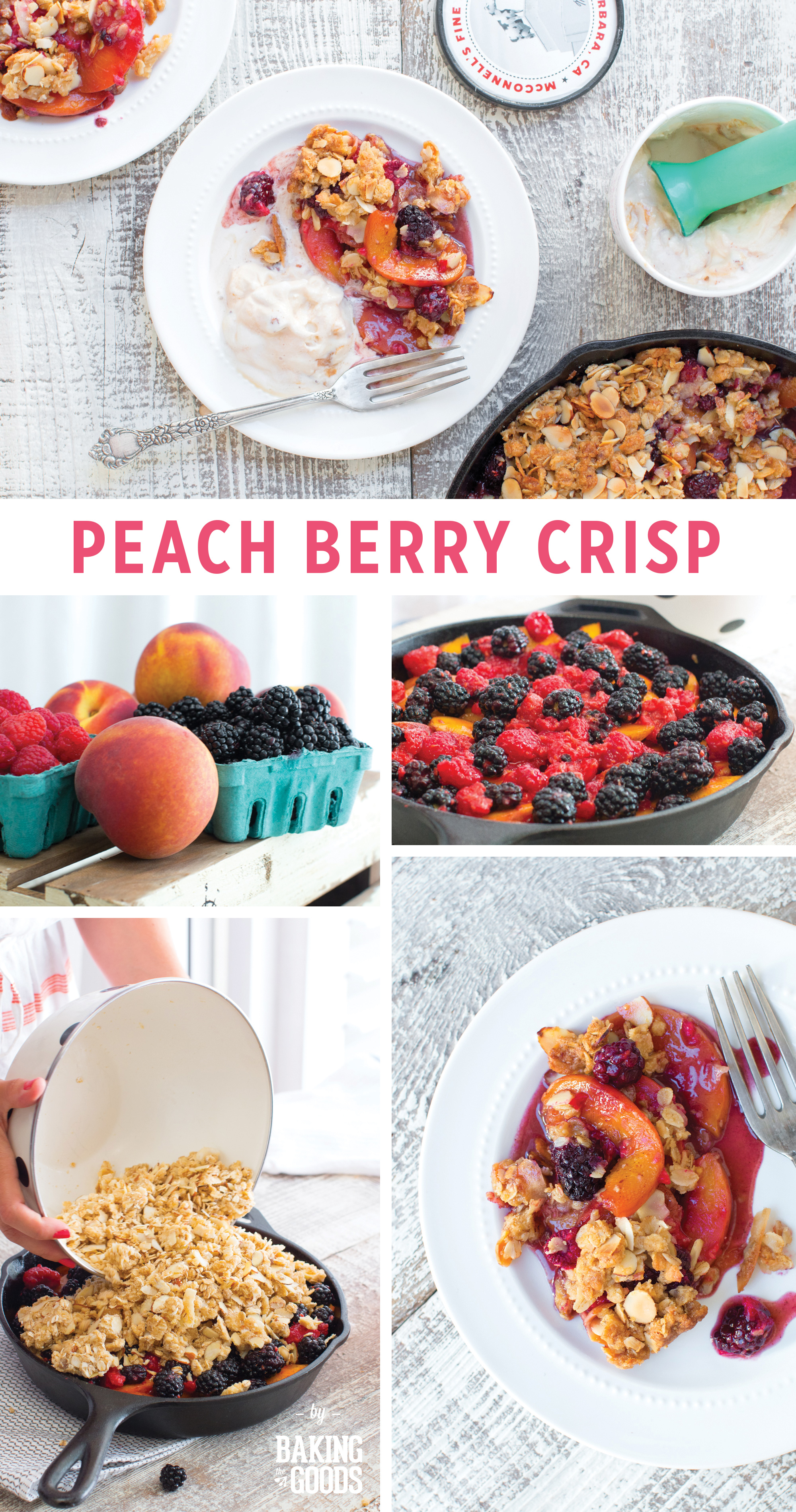 Peach Berry Crisp