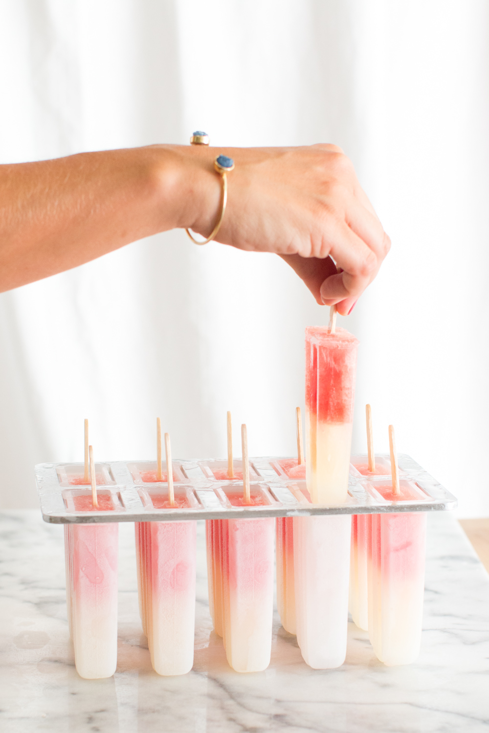 Watermelon Paloma Popsicles pull out