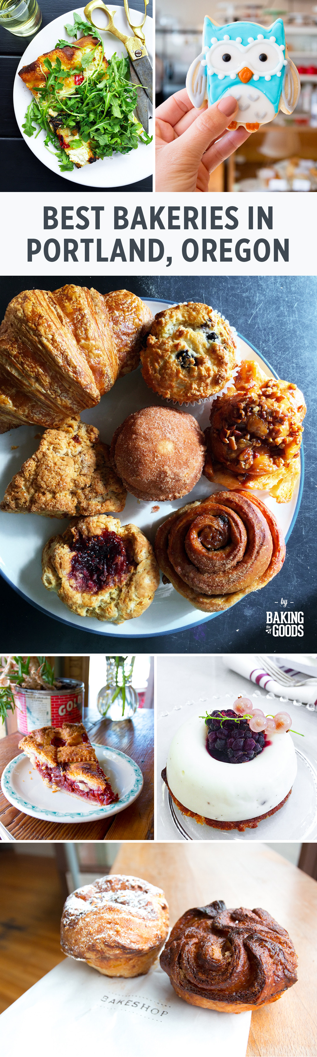 The Best Bakeries in Portland, Oregon curated by Baking The Goods
