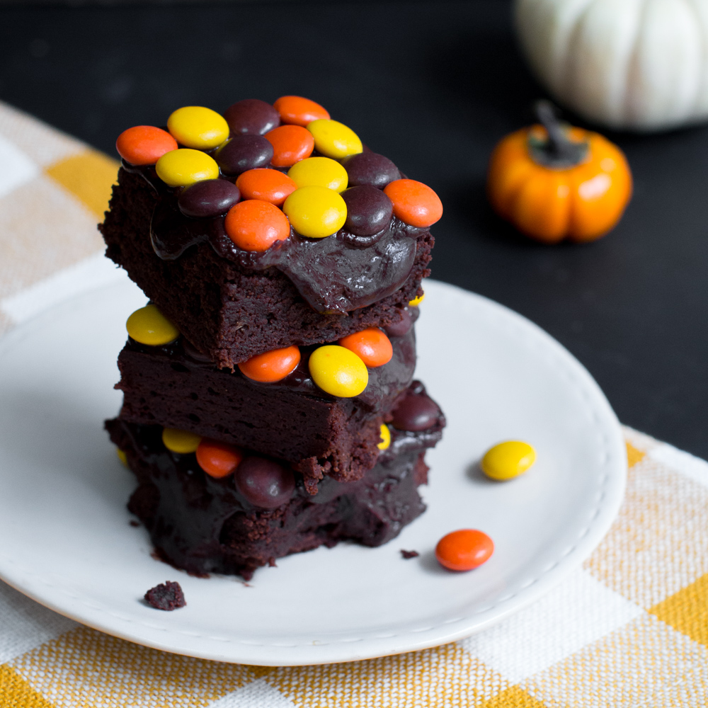 Reese's Pieces Brownies
