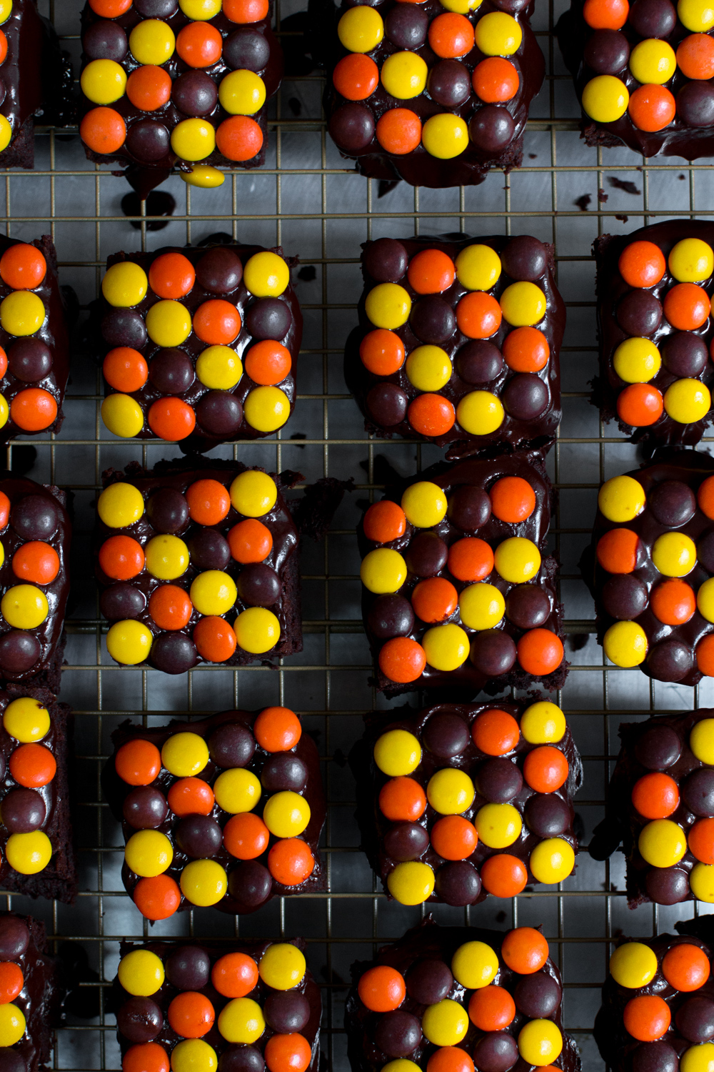 Rows and Rows of Reese's Pieces