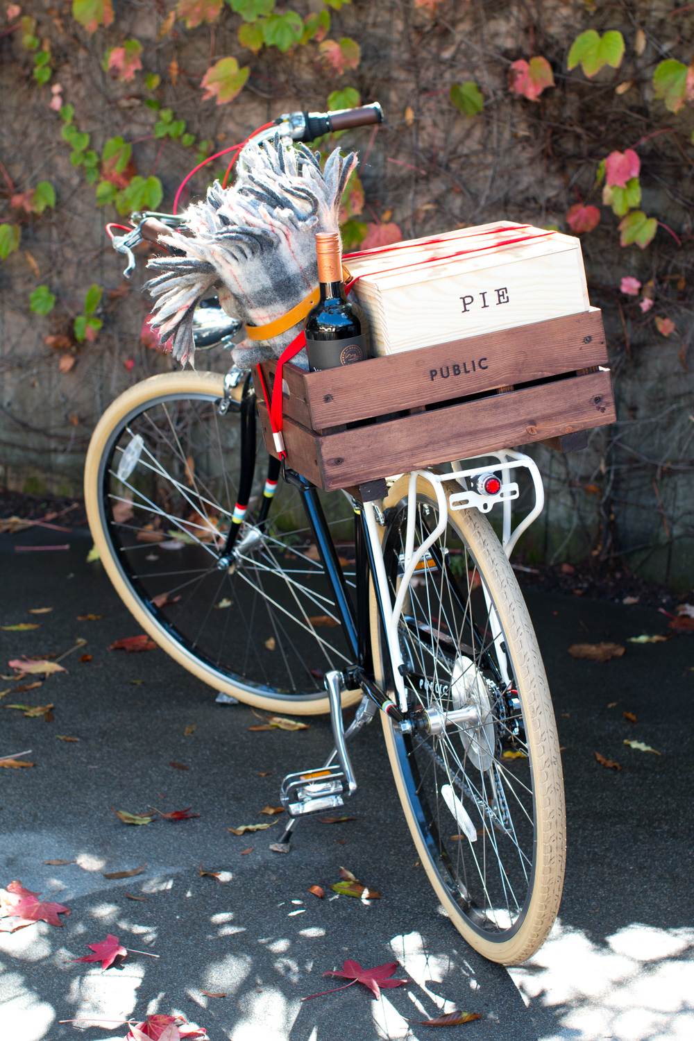 PUBLIC M7 Bike and Maple Glazed Apple Cinnamon Pop Tarts by Baking The Goods