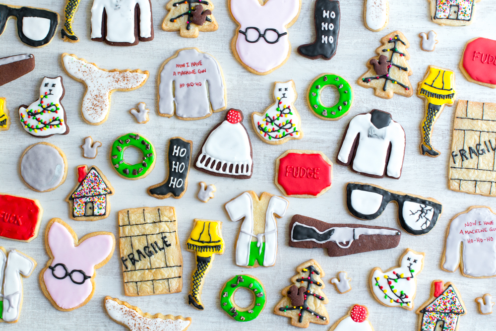 Christmas Movie Cookies for days!
