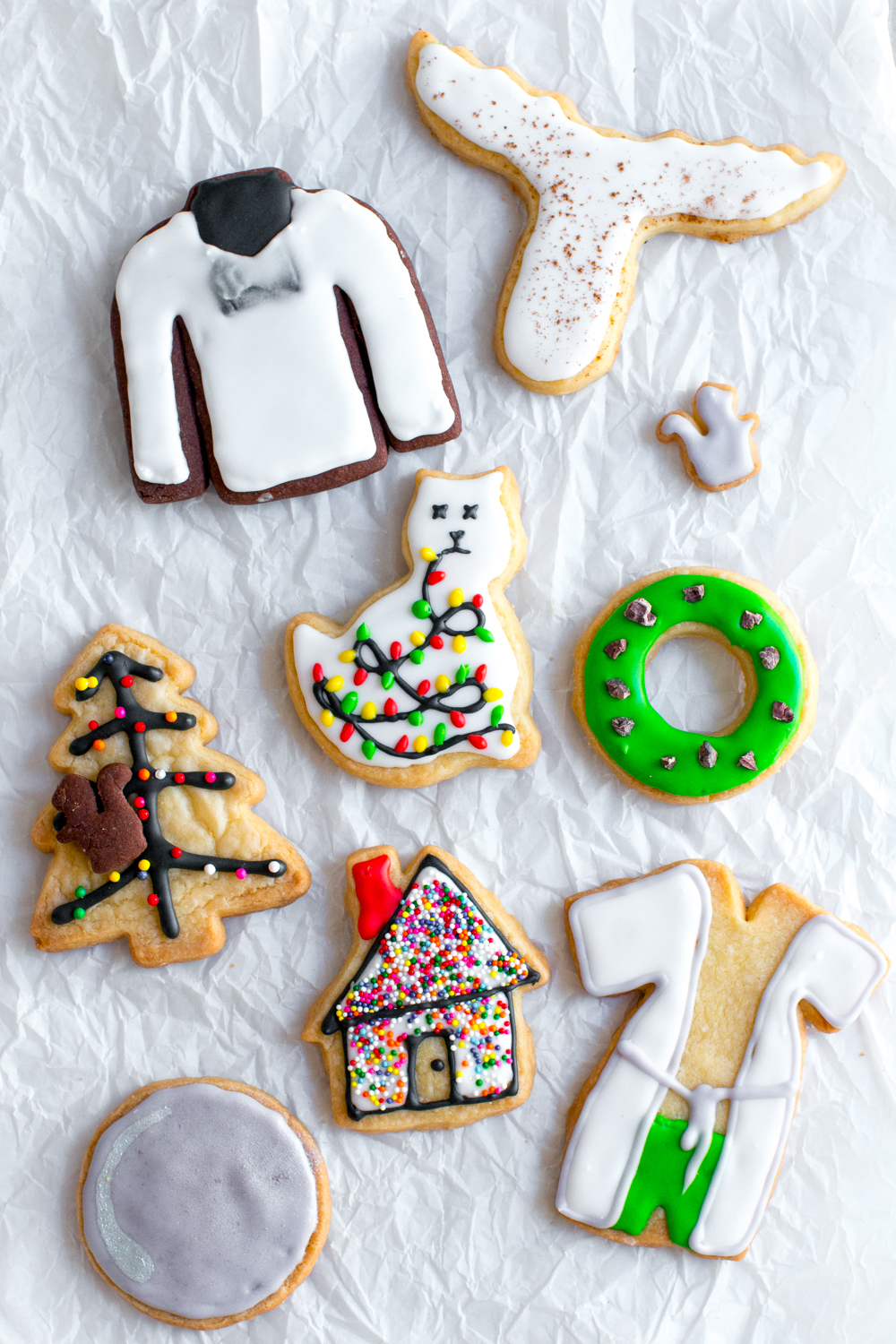 A Christmas Vacation inspired Christmas Movie Cookies