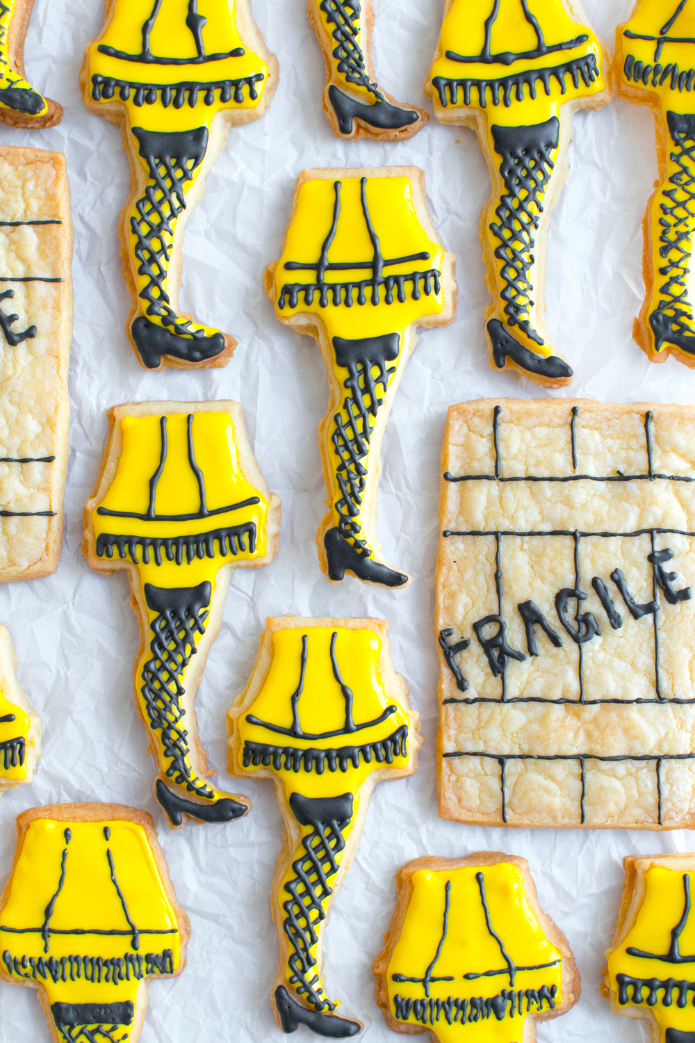 Everybody loves a leg lamp cookie!