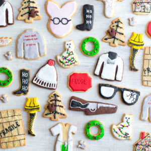 Christmas Movie Cookies