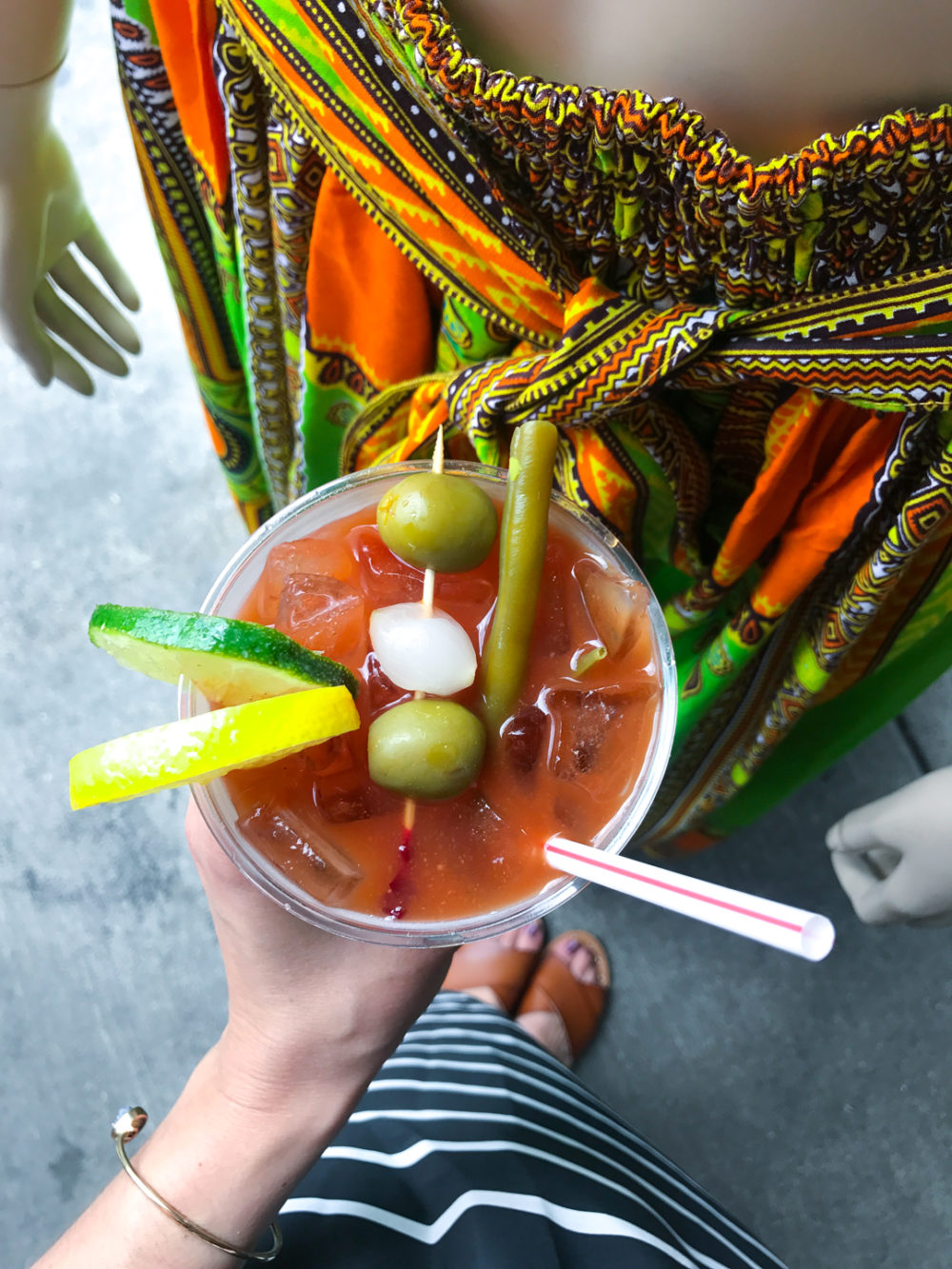 Bloody Mary at the French Market in New Orleans, LA.