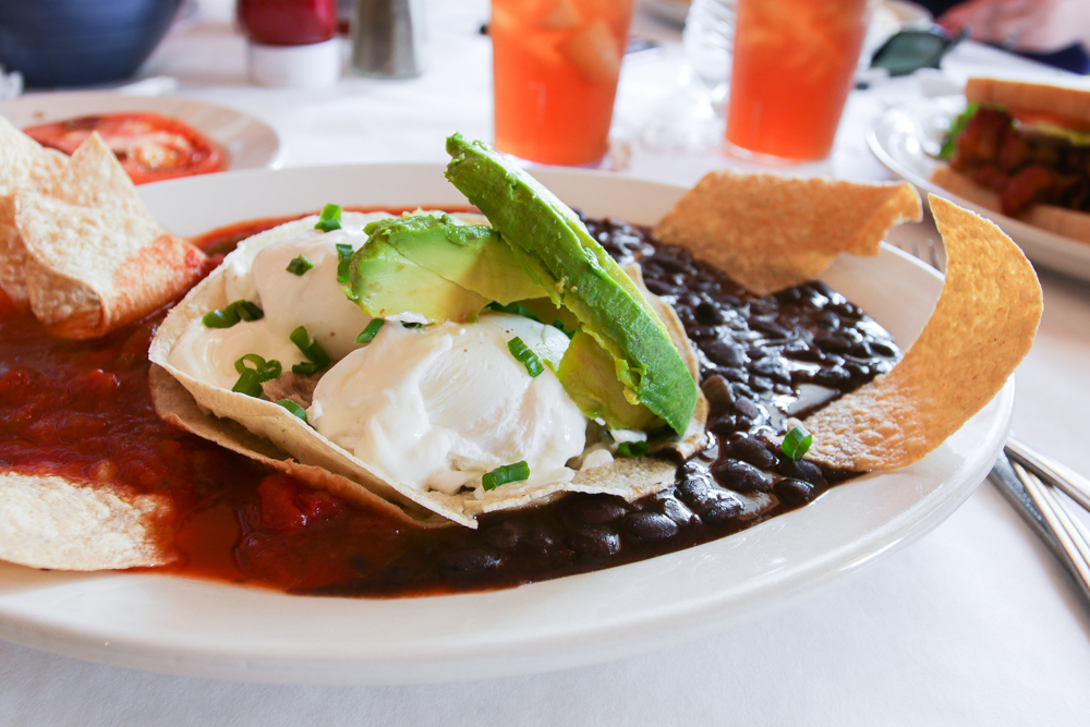 Huevos Rancheros aka Hangover Cure from Coulis in New Orleans, LA.