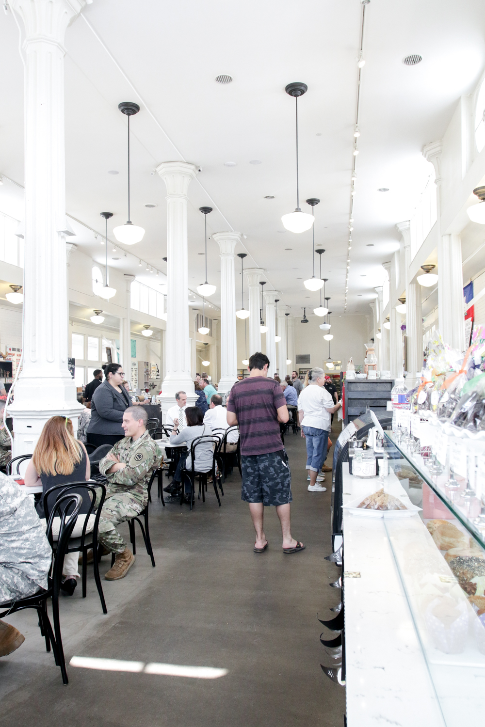 So much goodness to be had at the St. Roch Market food hall in the historic St. Roch neighborhood of New Orleans, LA.
