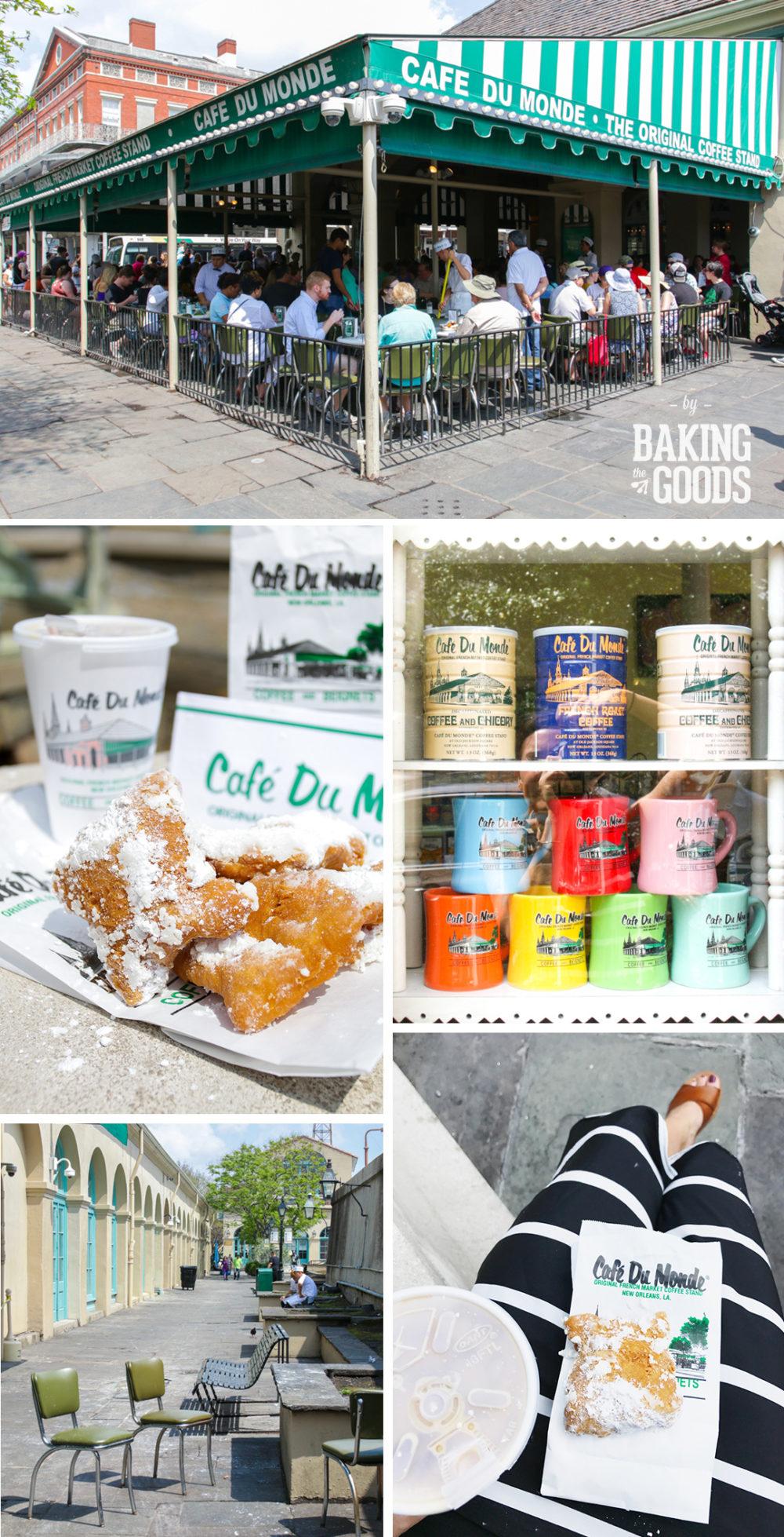 Cafe Du Monde in New Orleans, LA.