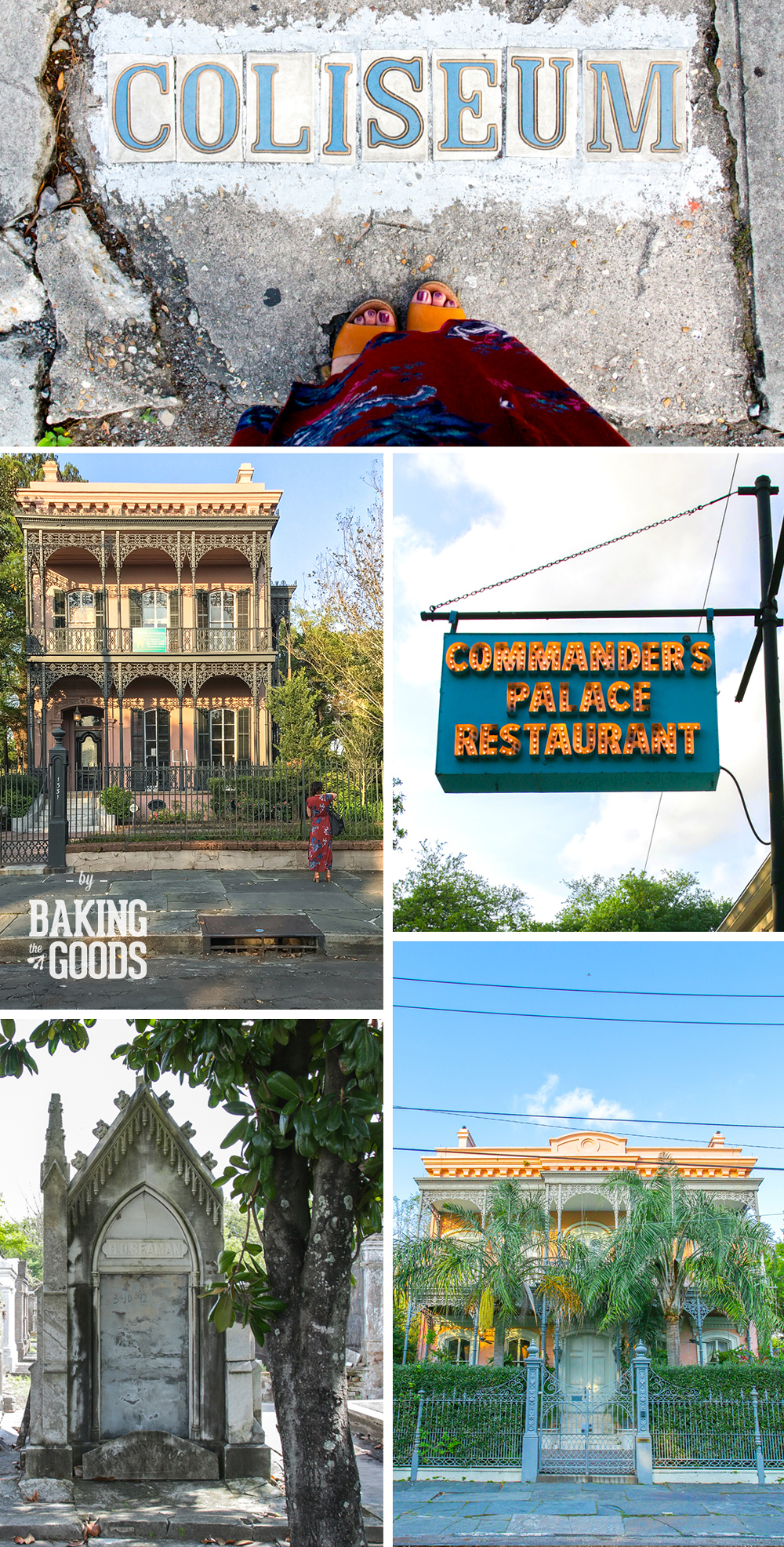 The Garden District in New Orleans, LA