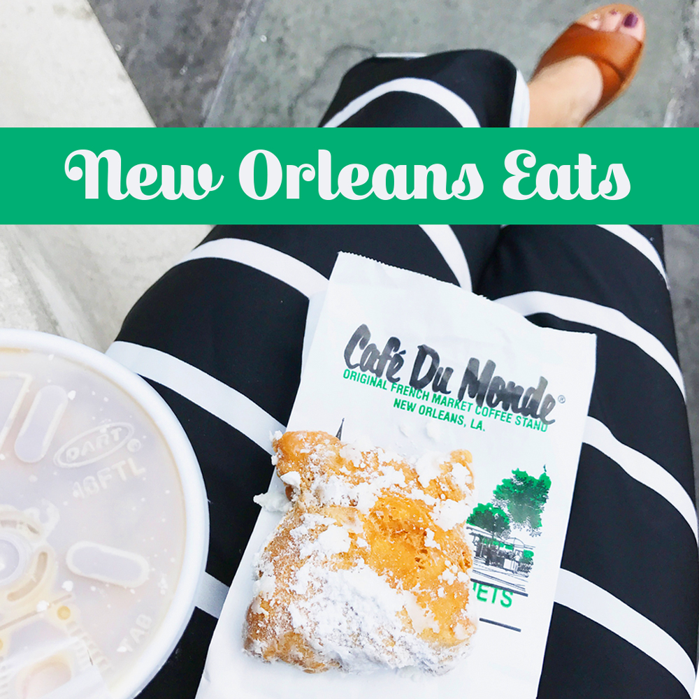 New Orleans Eats by Baking The Goods.