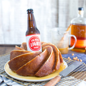 One Bourbon, One Scotch, One Beer Bundt Cake