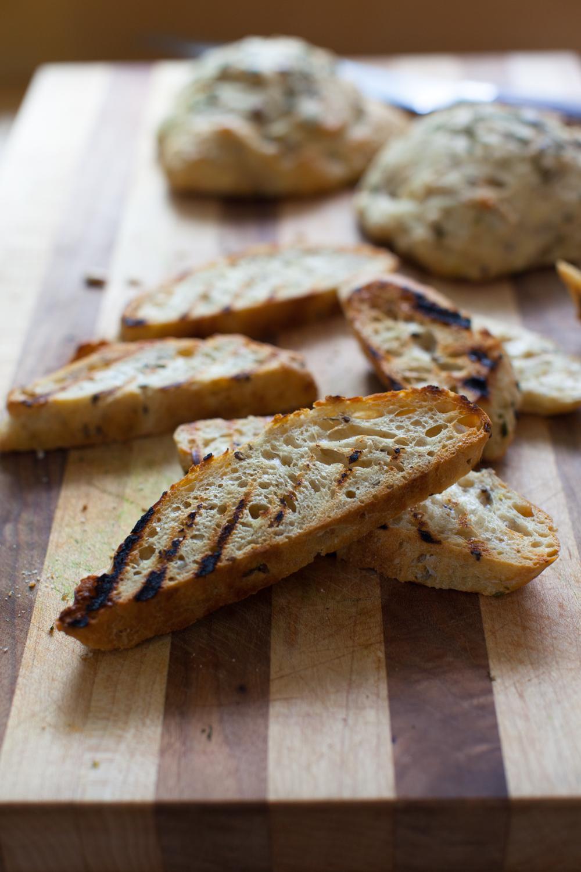 grilled Oat Bakery bread