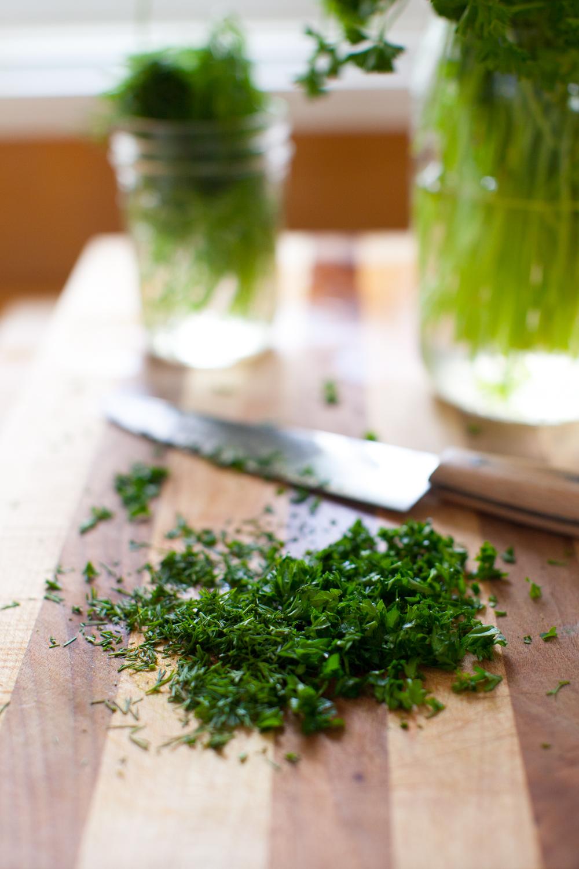 herbs for herbed skyr