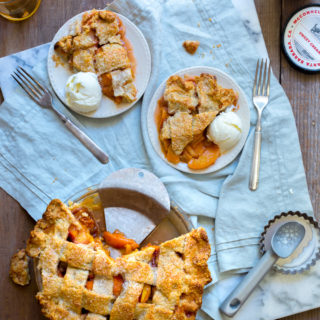 Rye Rye Peach Pie by Baking The Goods.