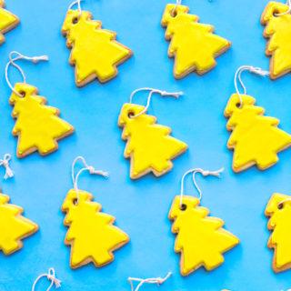 Vanillaroma Cookies inspired by Vanillaroma air fresheners.