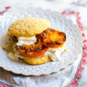 Grilled Nectarine Shortcakes