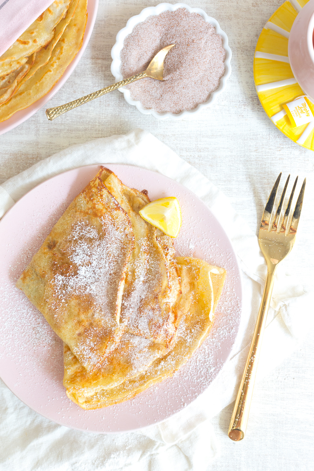 The Best Basic Crepes taste great any time of day.