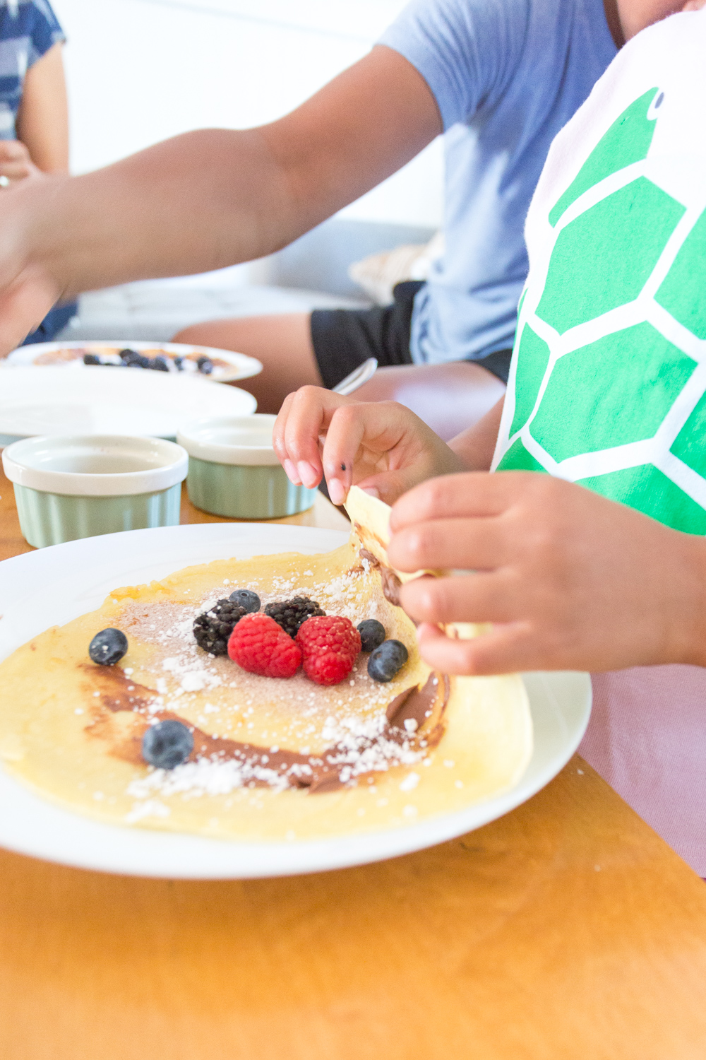 The Best Basic Crepes toppings bar