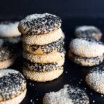 Black & White Tahini Cookies by Baking The Goods