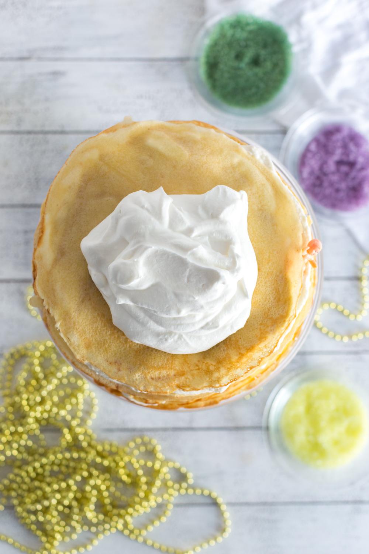 Topping Crepe King Cake
