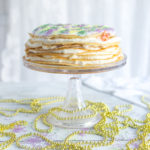 Crepe King Cake by Baking The Goods