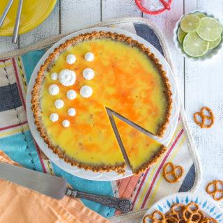 Grapefruit Margarita Tart with Pretzel Crust by Baking The Goods