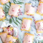 Raspberry Rhubarb Pink Peppercorn Hand Pies by Baking The Goods