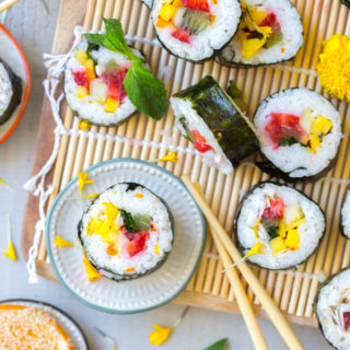 Fruity Coconut Kimbap by Baking The Goods
