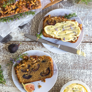 Caramelized Fig & Walnut Bread by Baking The Goods