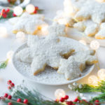 Cardamom Coconut Snowflake Cookies by Baking The Goods.