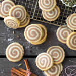 Vanilla Chai Pinwheel Cookies by Baking The Goods
