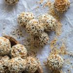 Quinoa Date Tahini Energy Balls