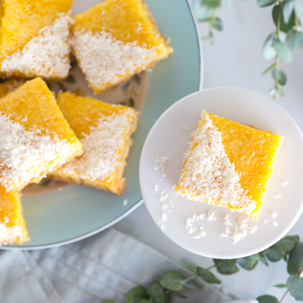 Grapefruit Coconut Bars by Baking The Goods