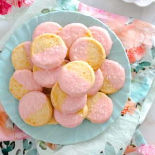 Campari Shortbread Cookies by Baking The Goods