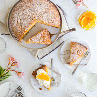 Orange Aperitivo Olive Oil Cake by Baking The Goods.