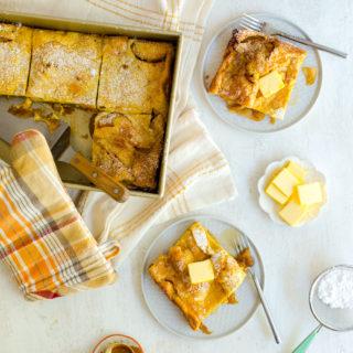 Apple Bottom Hootenanny Pancakes by Baking The Goods