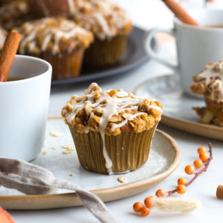 Apple Cider Oat Streusel Muffins by Baking The Goods
