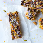 Seedy Almond Oat Bars by Baking The Goods