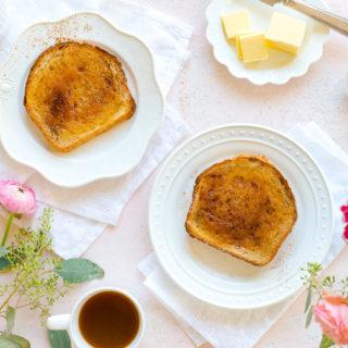 Cinnamon Toast Brûlée by Baking The Goods