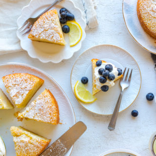 Limoncello Olive Oil Cakes by Baking The Goods