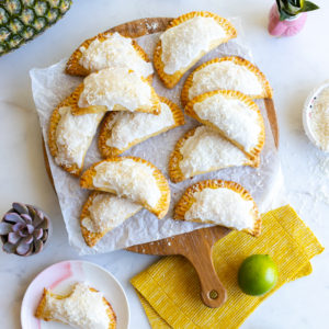 Pineapple Lime Coconut Hand Pies