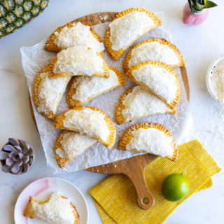 Pineapple Lime Coconut Hand Pies by Baking The Goods
