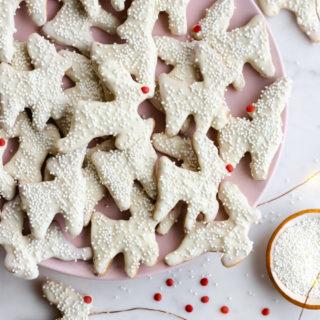 Reindeer Animal Cookies by Baking The Goods